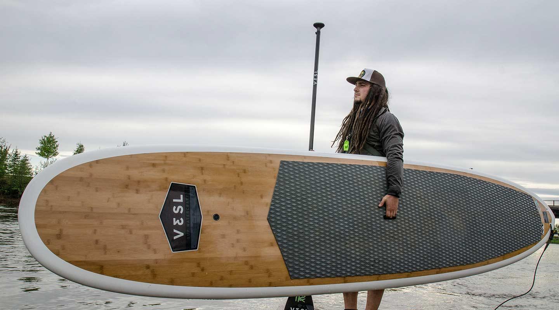 Paddle board Alaska