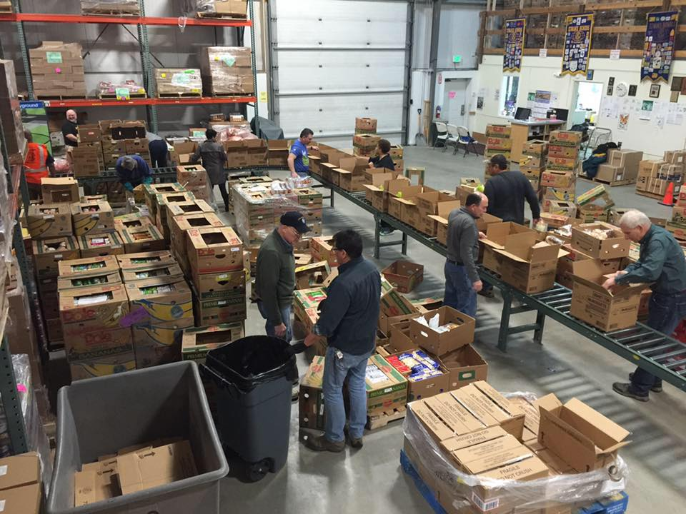 FILL THE PANTRY at Trax's Nordic Nights Fundraiser for the Fairbanks Food Bank