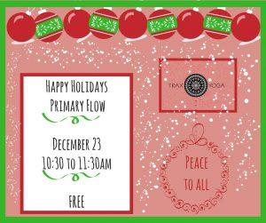 Happy Holidays Primary Flow! @ Trax Outdoor Center   Fairbanks   Alaska   United States