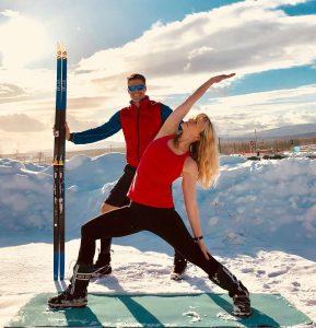 Ski and Yoga = Skoga! @ Trax Outdoor Center   Fairbanks   Alaska   United States