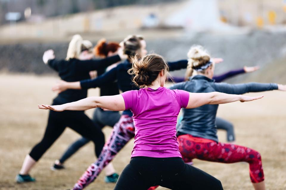 YOGA in the Outfield @ Gold Panners Field | Fairbanks | Alaska | United States