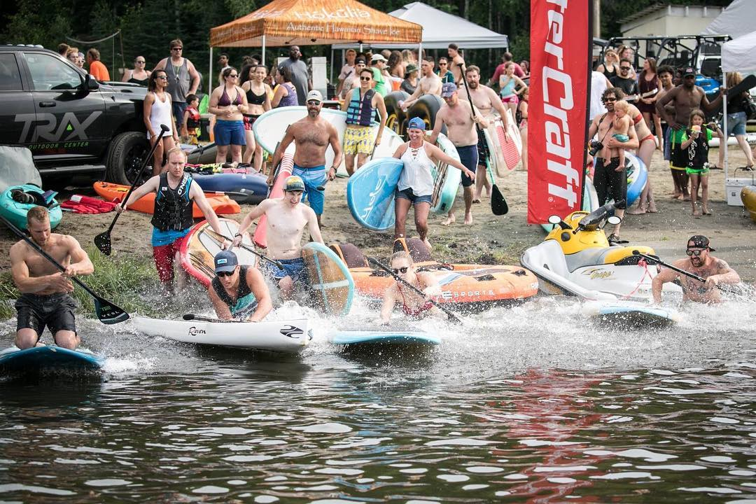 TRAX Soundwaves Paddleboard Race @ Bingle Memorial Camp   Salcha   Alaska   United States