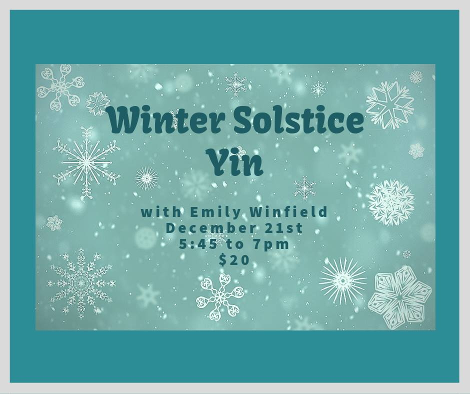 Winter Solstice Yin @ Trax Outdoor Center | Fairbanks | Alaska | United States