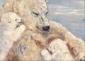 """October Art Exhibit at TRAX-""""Our Star-Born Wildlife"""" by Karen Austen @ Trax Outdoor Center"""